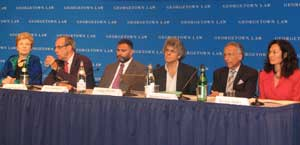 Screening panel at Georgetown Law