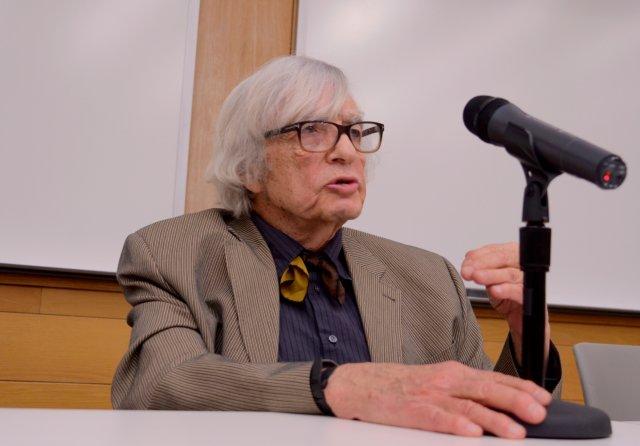 Panelist Robert J. Lifton.